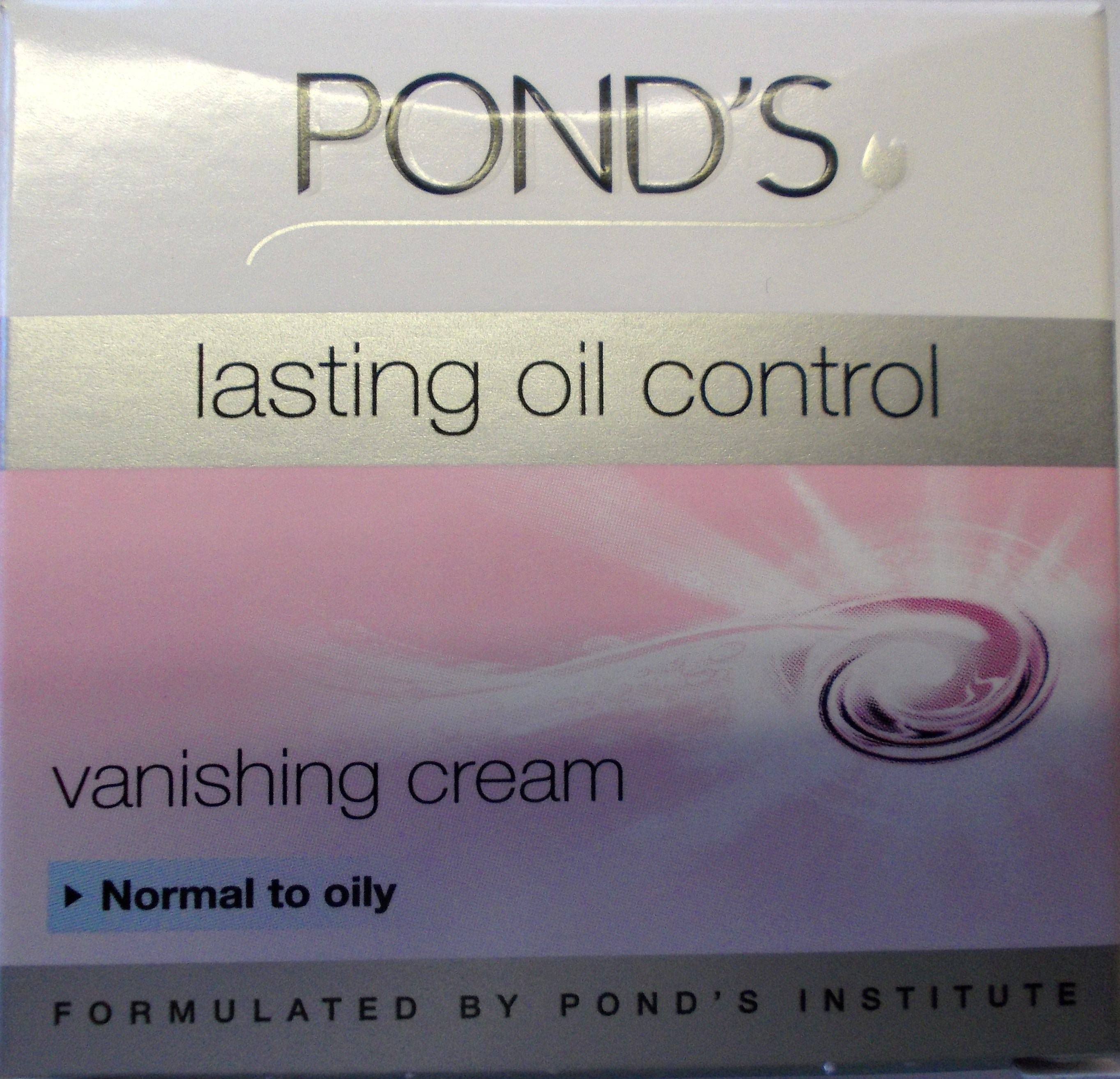 Pond's Vanishing Cream Normal to Oily